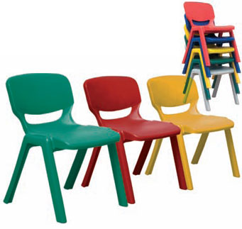 stackable classroom chair
